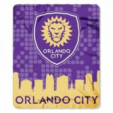 Orlando City FC Skyline Series Fleece Blanket