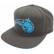 Orlando Magic Neon Logo Adjustable Flat Bill Hat