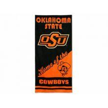 "Oklahoma State Cowboys 28"" x 58"" Dual Logo  Beach Towel"