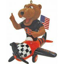 Oregon State Beavers Team Wagon Ornament