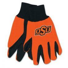 Oklahoma State Cowboys Team Color Utility Gloves