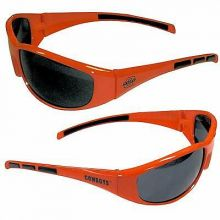 Oklahoma State Cowboys Wrap 3-Dot Sunglasses