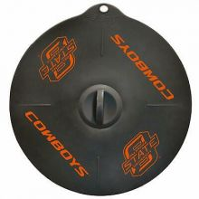 "Oklahoma State Cowboys 9"" Silicone Lid"
