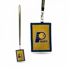 Indiana Pacers Camo Breakaway Lanyard Key Chain