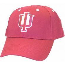 NCAA Licensed Indiana Hoosiers Embroidered Team Logo Baseball Style Hat Cap