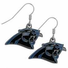 Carolina Panthers  Logo Dangle Earrings