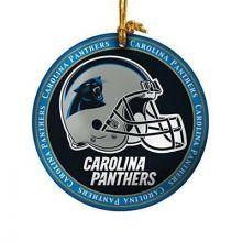 Carolina Panthers Ceramic Mini Plate Ornament