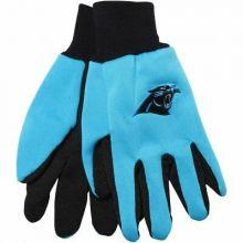 Carolina Panthers Team Color Utility Gloves