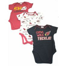 Arizona Cardinals 2018 3 Piece Bodysuit Set