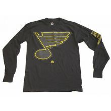 St. Louis Blues Black Long Sleeve T-Shirt