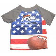 Denver Broncos Infant USA Flag T-Shirt