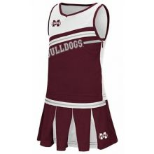 Mississippi State Bulldogs Toddler 2 pc. Cheerdress