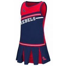 Ole Miss Rebels Toddler 2 pc. Cheerdress