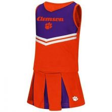 Clemson Tigers Colosseum Toddler 2 Pc Cheerdress
