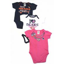 Chicago Bears 2017 Girls 3 Piece  Bodysuit Set