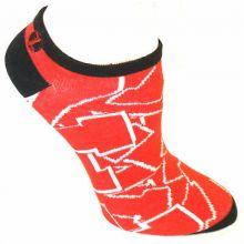 Nebraska Cornhuskers No Show Repeater Socks