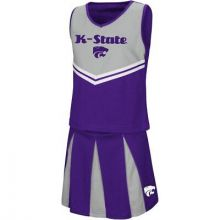 Kansas State Wildcats Colosseum Toddler 2 Pc Cheerdress