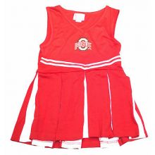 Ohio State Buckeyes Child  Embroidered Cheerdress