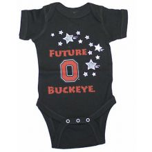 "Ohio State Buckeyes Infant ""Future Ohio Buckeye"" Black  Bodysuit"