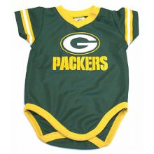 Green Bay Packers 2018 Infant Boys Dazzle Bodysuit