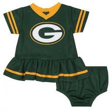 Green Bay Packers Infant Dazzle Dress & Panty