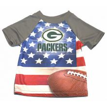 Green Bay Packers Toddler USA Flag T-Shirt