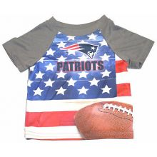 New England Patriots Infant USA Flag T-Shirt