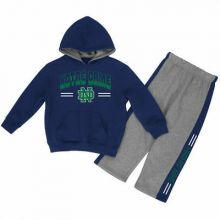 "Notre Dame Fighting Irish Infant Boys ""Punter"" Fleece Hoodie and Pant Set"