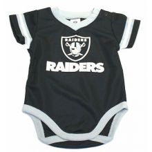 Oakland Raiders 2018 Infant Boys Dazzle Bodysuit