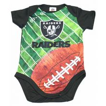 Oakland Raiders Infant Field Bodysuit