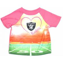 Oakland Raiders Infant Girls Stadium T-Shirt