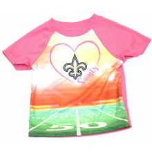 New Orleans Saints Infant Girls Stadium T-Shirt