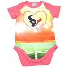 Houston Texans Girls Infant Field Bodysuit