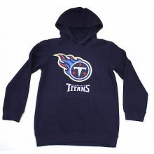 Tennessee Titans Youth Reflective Gold Trim Hoodie
