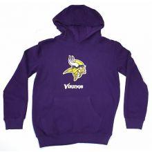 Minnesota Vikings Youth Reflective Gold Trim Hoodie