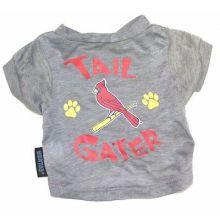 "MLB Licensed St. Louis Cardinals ""Tail Gater"" DOG T-Shirt (Large (Neck 16"", Lgth"
