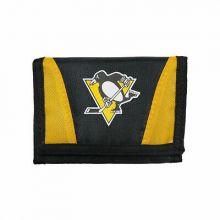 Pittsburgh Penguins Tri-Fold Nylon Chamber Wallet