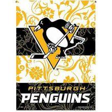 """Pittsburgh Penguins Premium 2-Sided 13"""" x 18""""  Garden Flag"""