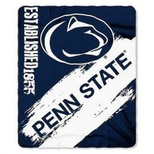 Penn State Nittany Lions Established Painted Fleece Throw
