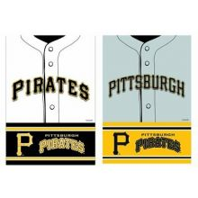 Pittsburgh Pirates 2 Sided Suede Foil Garden Flag