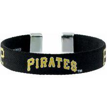Pittsburgh Pirates Ribbon Band Bracelet