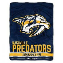 "Nashville Predators Super Plush Fleece Throw Blanket (46"" x 60"")"