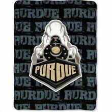 Purdue Boilermakers Super Plush Fleece Throw