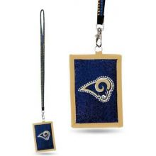 Los Angeles Rams Beaded Lanyard I.D. Wallet