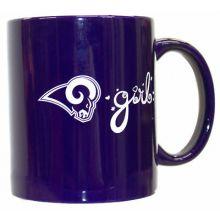 Los Angeles Rams Team Color Rams Girl 12oz Mug