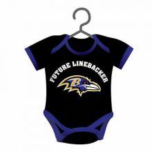 Baltimore Ravens Baby Bodysuit Ornament