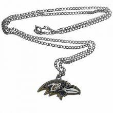 Baltimore Ravens Logo Chain Necklace