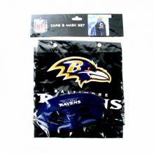Baltimore Ravens Cape and Mask Set