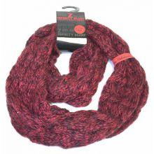 Arkansas Razorbacks Chunky Duo Knit Infinity Scarf