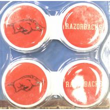 Arkansas Razorbacks Contact Lens Case 2 Pack